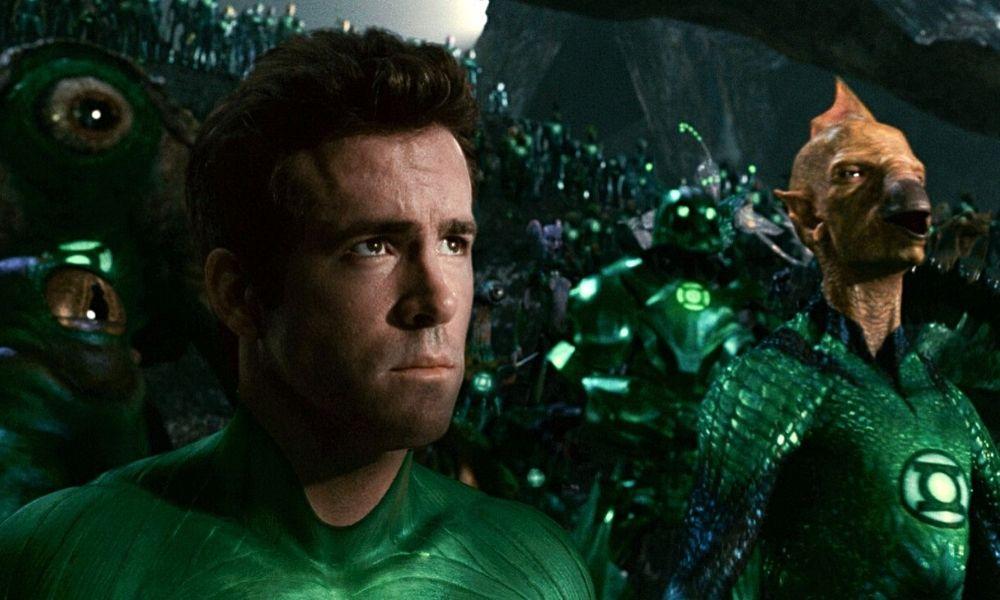 Tom Cruise y John David Washington como Green Lanterns