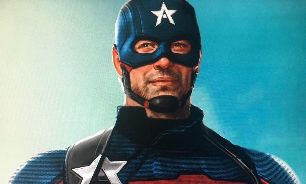 US Agent utilizó el escudo de Captain America
