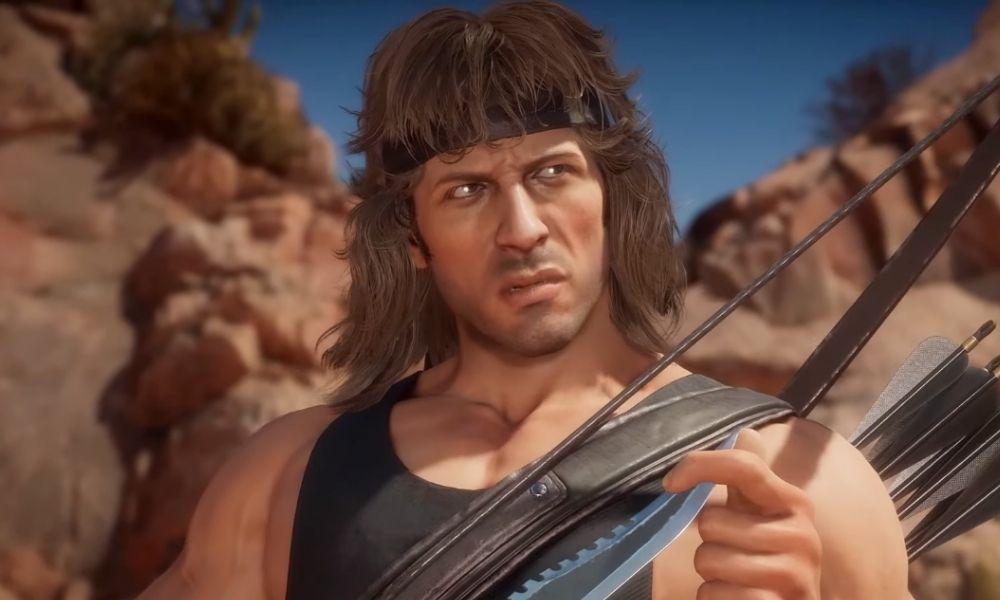 Así luchará Rambo en 'Mortal Kombat 11'