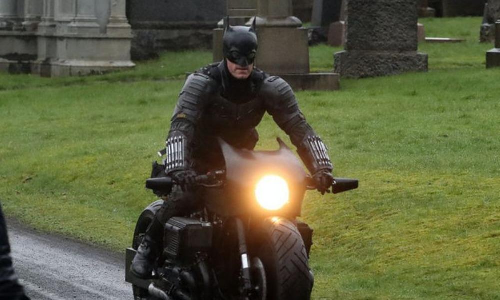 Fotos de la batimoto en 'The Batman'
