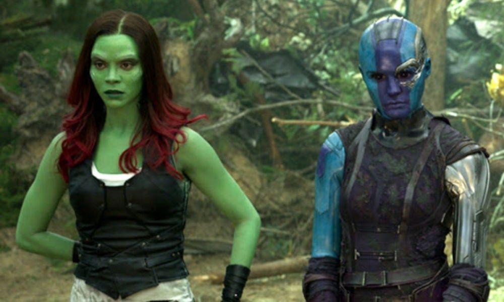 Gamora y Nebula tendrían más hermanos