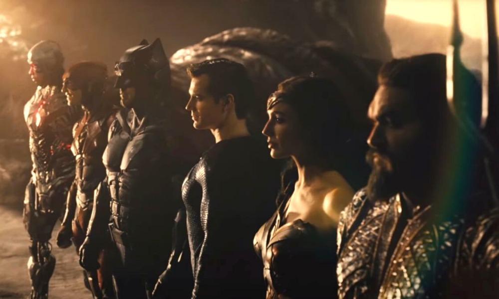 imagen de las grabaciones de Zack Snyders Justice League