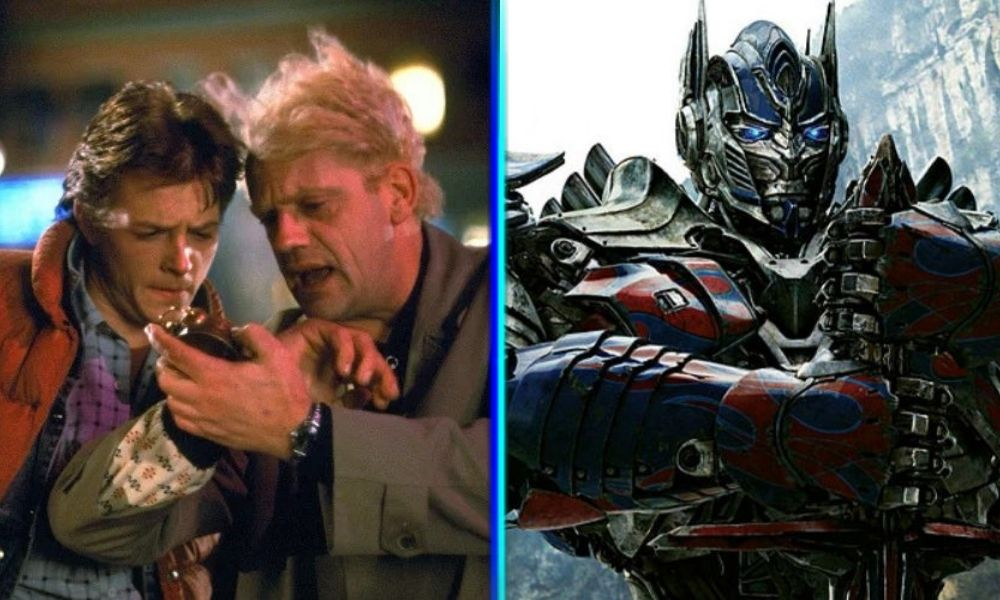 Personajes de Back to the Future conocerán a los Transformers