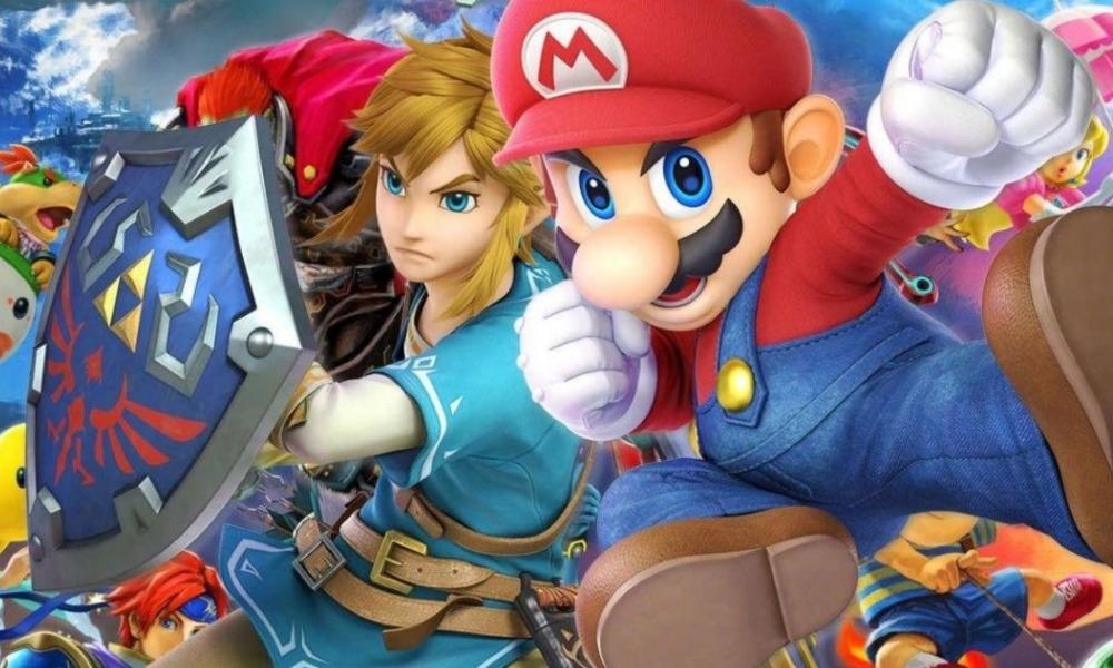 personajes de Minecraft en 'Super Smash Bros Ultimate'