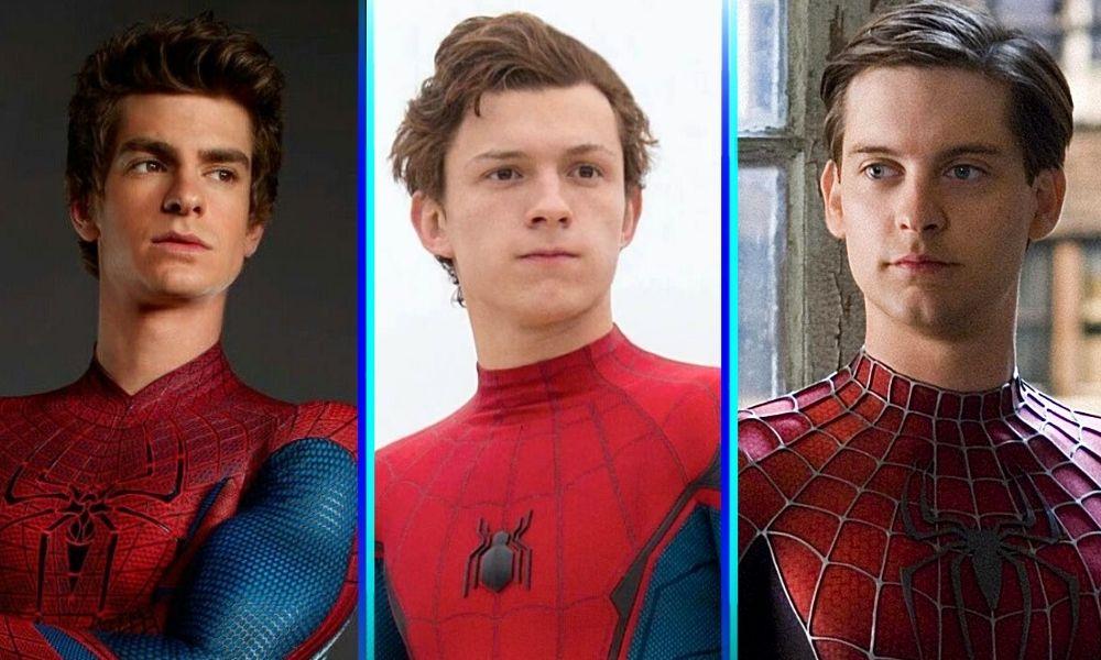 Tobey Maguire y Andrew Garfield en 'Spider-Man 3'