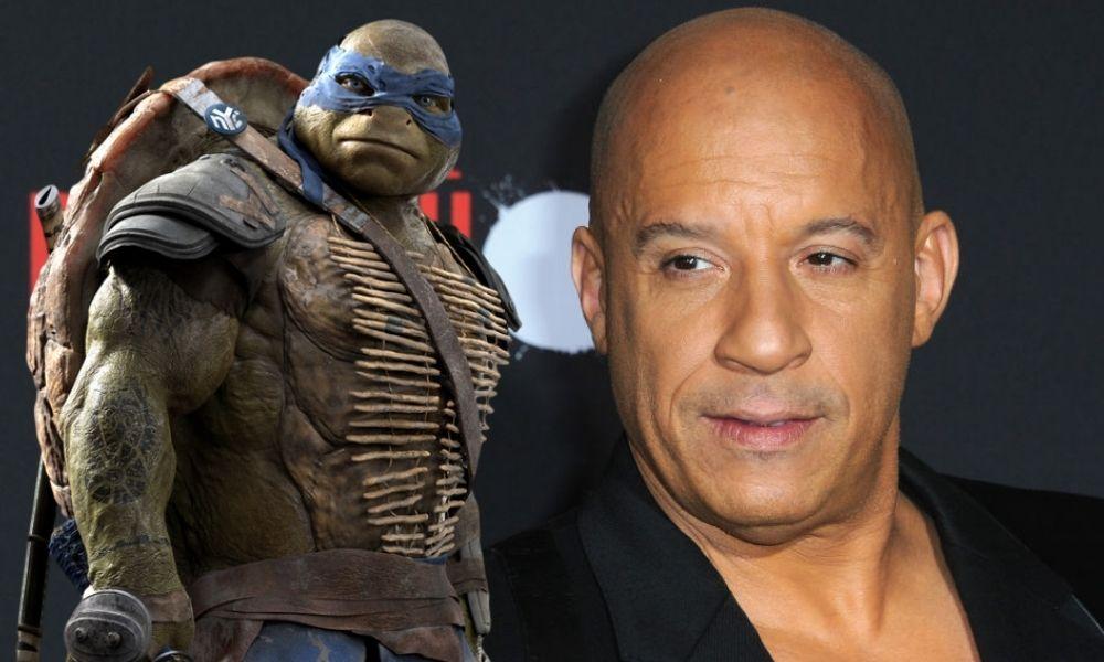 Vin Diesel en Teenage Mutant Ninja Turtles