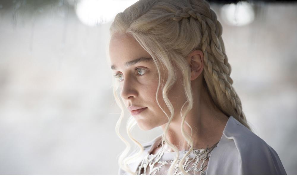 Emilia Clarke improvisó en 'Game of Thrones'