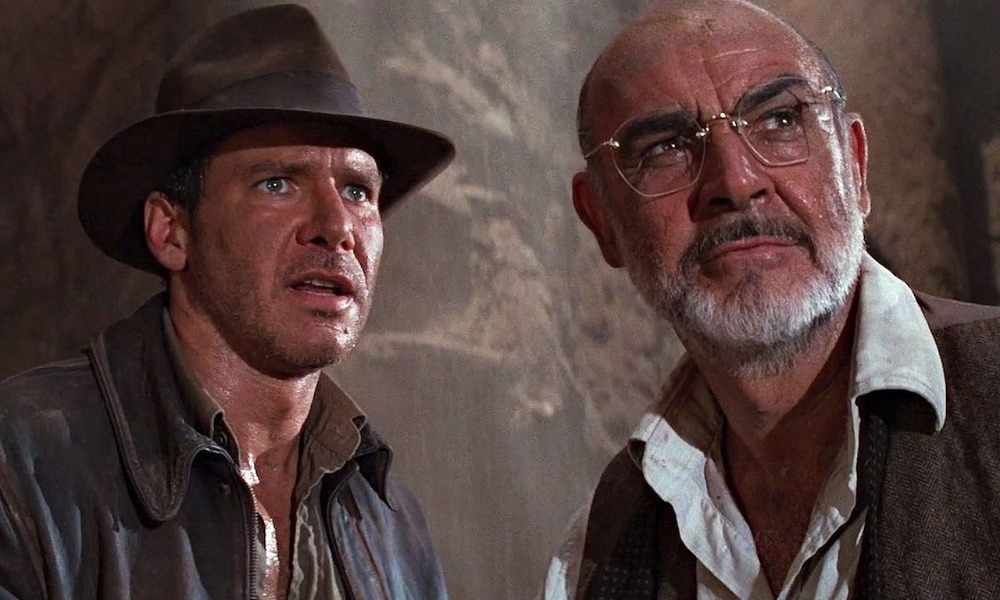Harrison Ford habló de Sean Connery