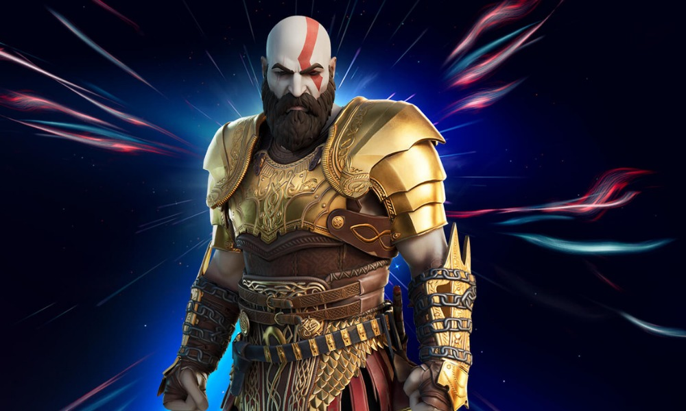 trailer de Kratos en 'Fortnite'