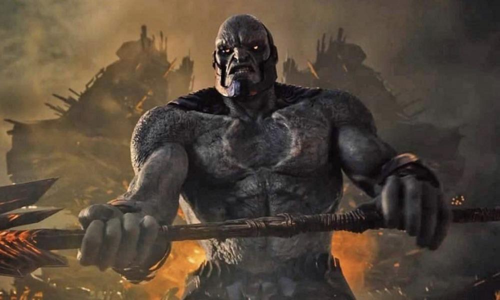 armadura de Darkseid en 'Zack Snyder's Justice League'