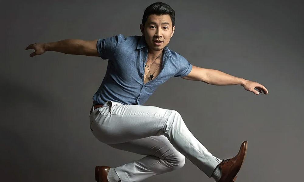 Primera vez que Simu Liu usó el traje de Shang-Chi