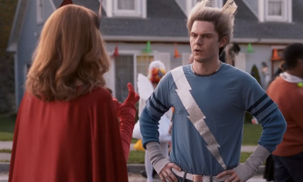 Fan-art de Evan Peters como Mephisto en WandaVision