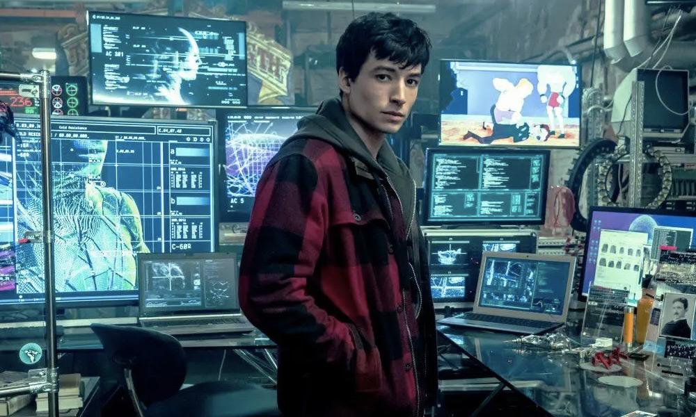Foto detrás de cámaras al set de The Flash