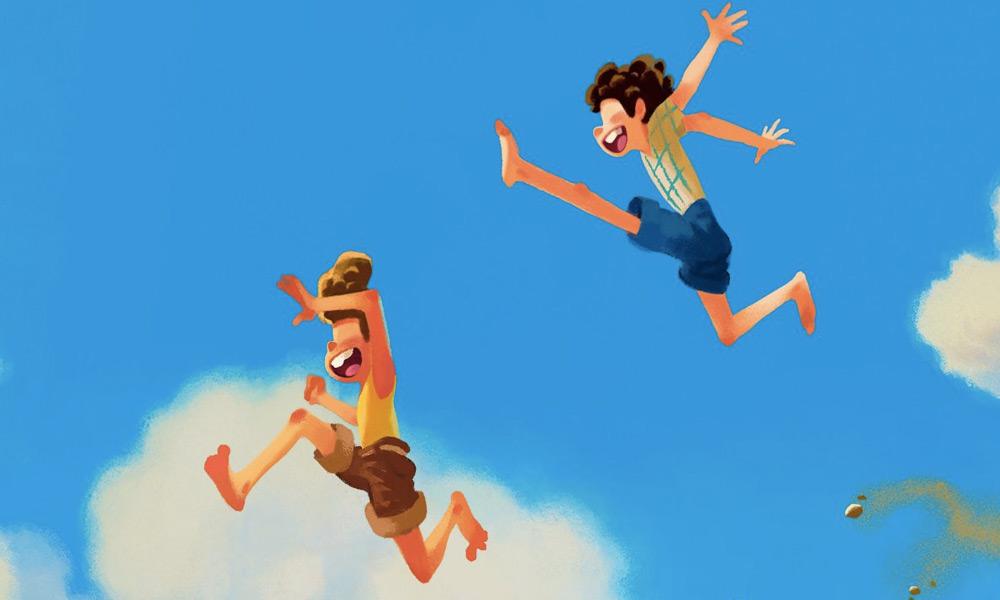 Pixar publica nueva imagen de Luca