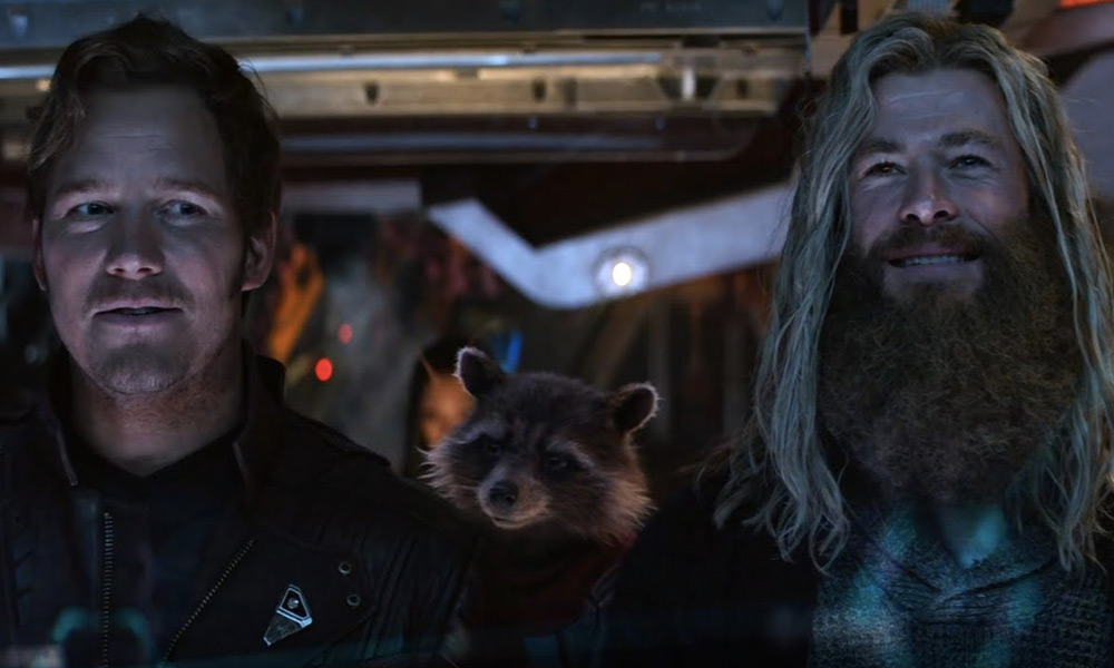 Chris Pratt terminó de grabar Thor: Love and Thunder