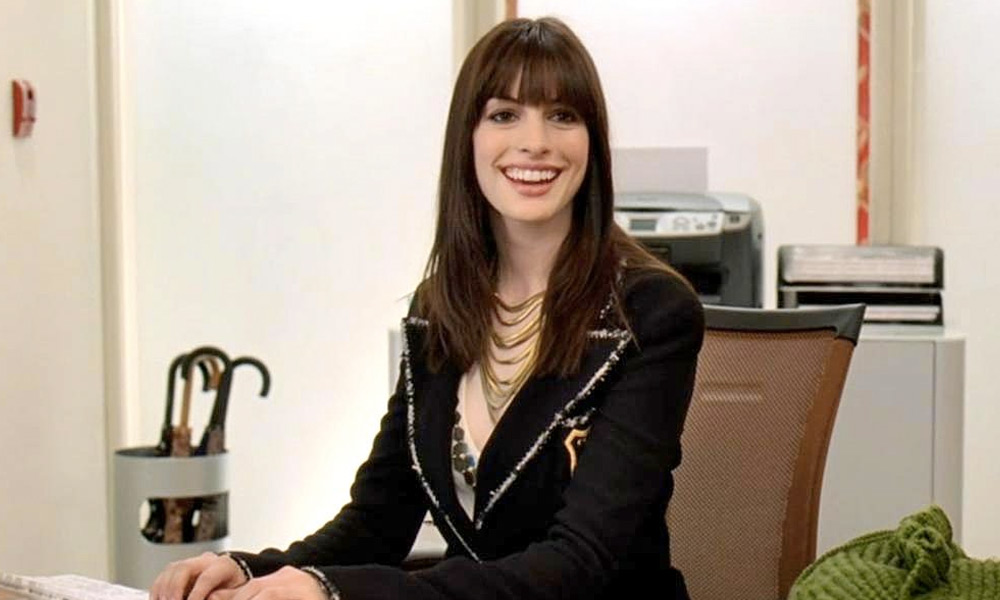 Anne Hathaway no era la primera opción en The Devil Wears Prada