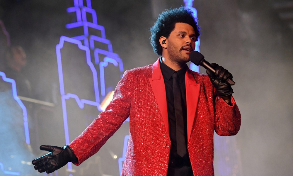 Medio tiempo del Superbowl con The Weeknd