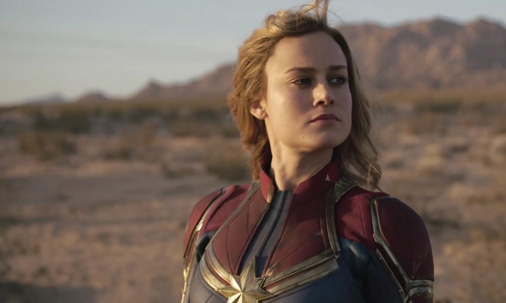 Escena más difícil de grabar en Captain Marvel