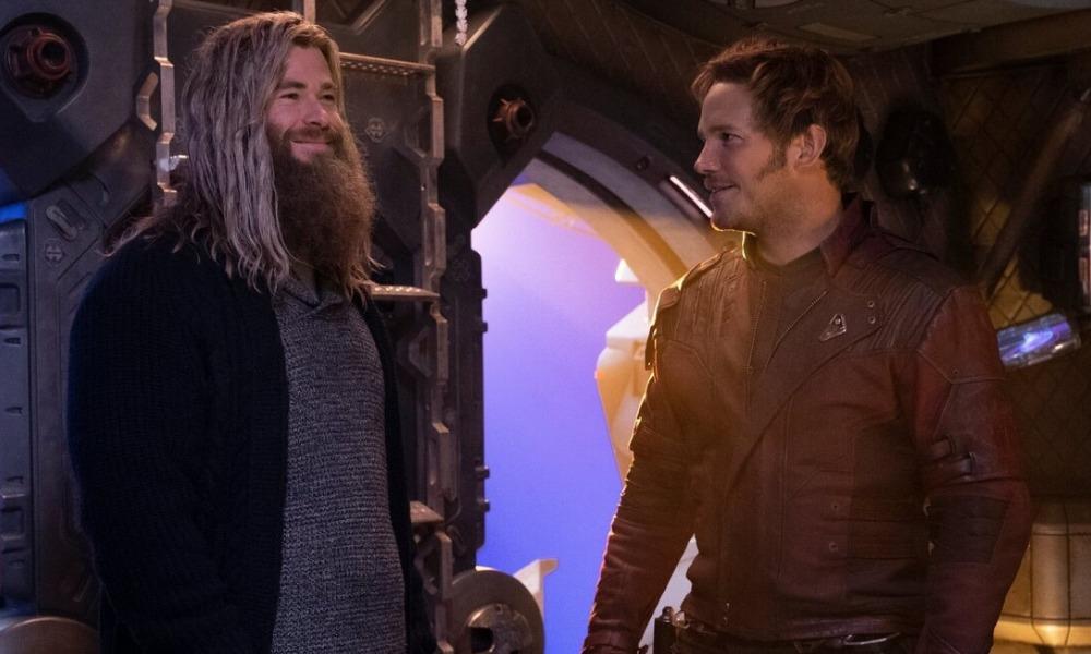 Chris Hemsworth se intimida ante Chris Pratt