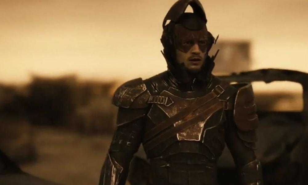 Armadura de Flash en Zack Snyder's Justice League