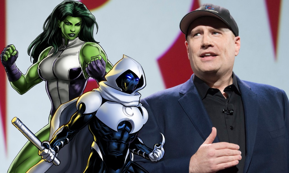 Kevin Feige dio detalles de She-Hulk y Moon Knight
