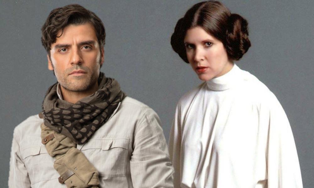 Leia ya conocía a Poe