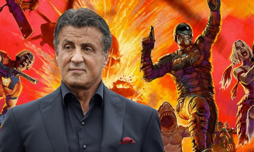 Sylvester Stallone en The Suicide Squad