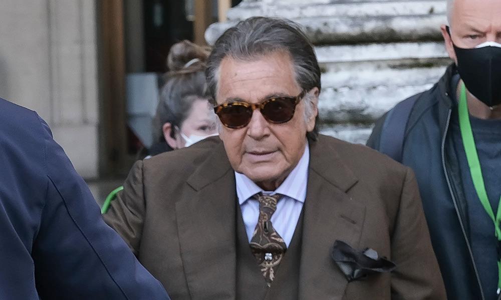 Critican a Al Pacino en House of Gucci