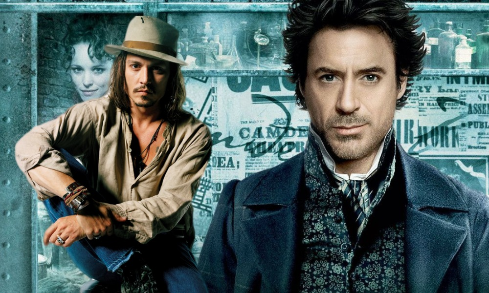 Johnny Depp en Sherlock Holmes 3