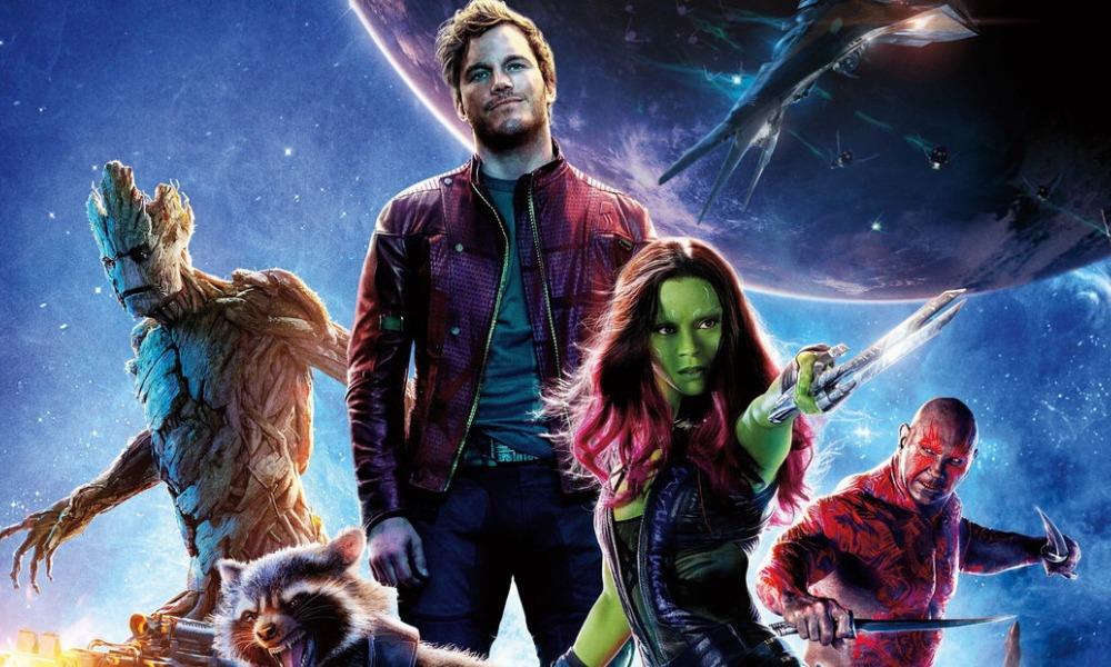 guion gráfico de 'Guardians of the Galaxy Vol 3'