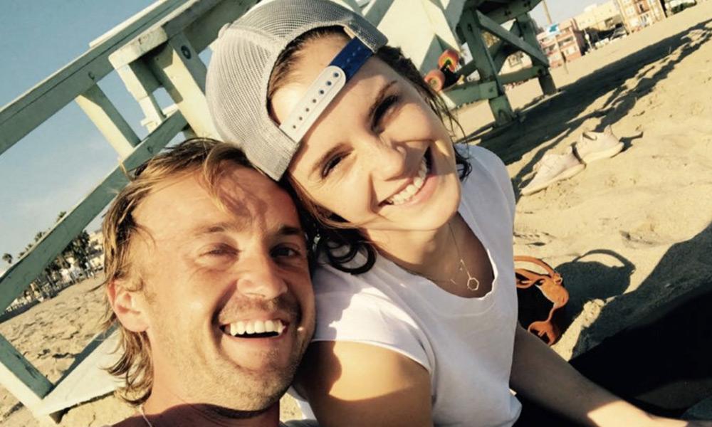 Tom Felton responde a los rumores de noviazgo con Emma Watson